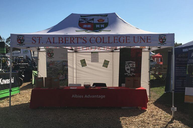 School Printed Marquee