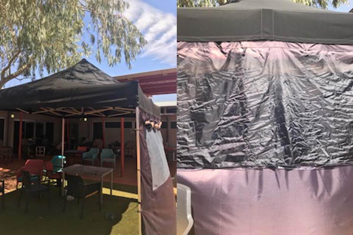 Outdoor testing of NextUV at Uluru