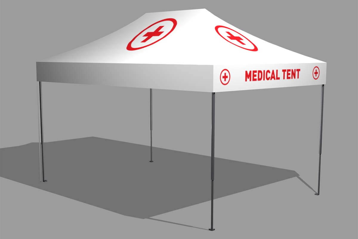 3m x 4.5m Emergency Shelter