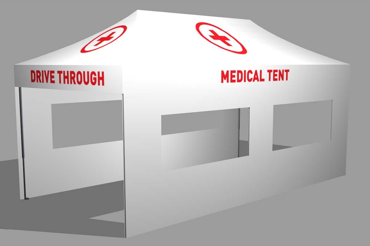 3x6m Medical Tent