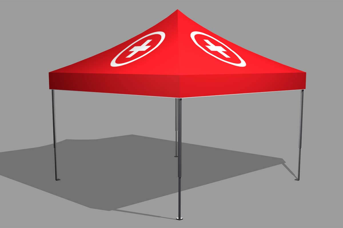 4x4m Emergency Tent