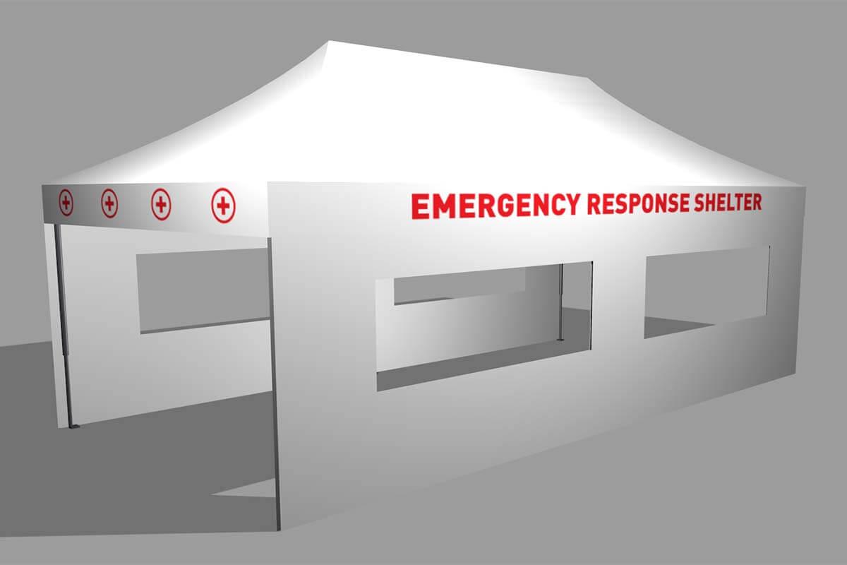 4x8 Medical Shelter
