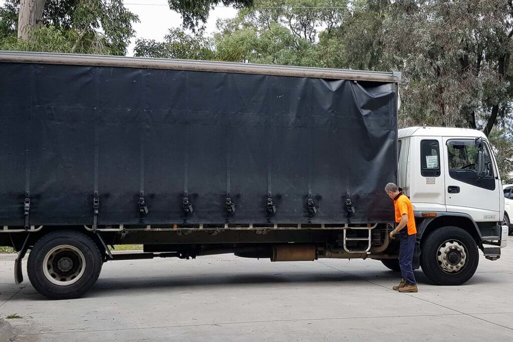 National delivery for marquees