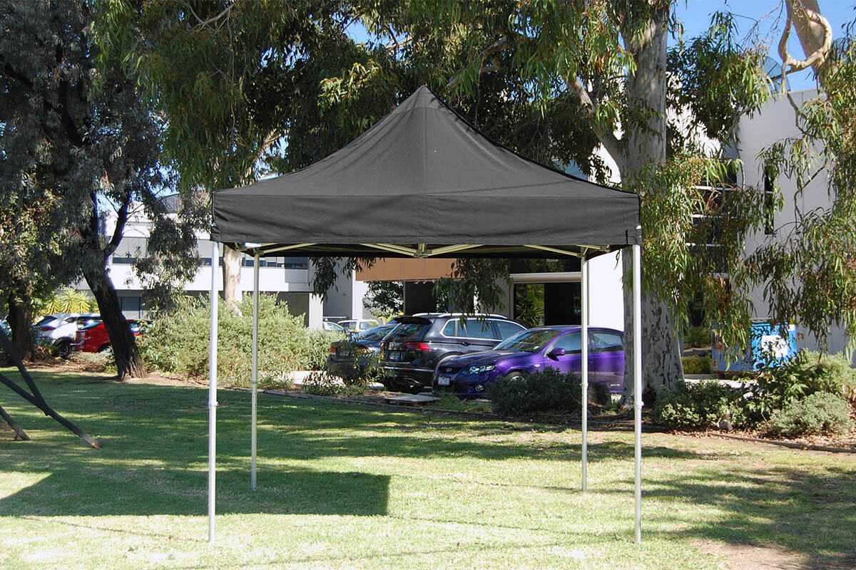 A Gazebo Set Up