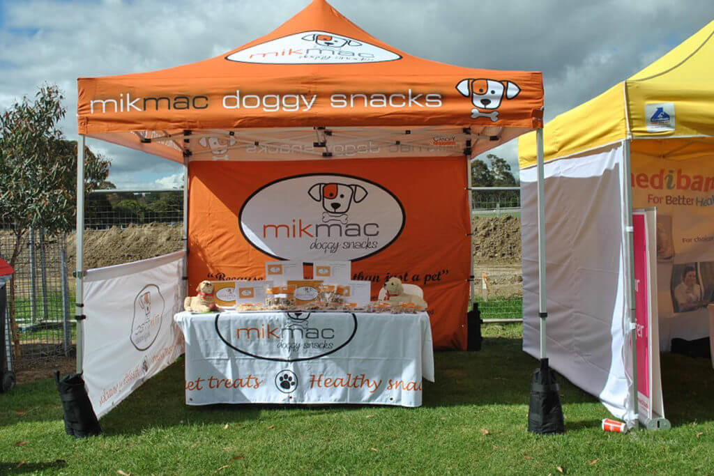 Branded Marquee Market Stall