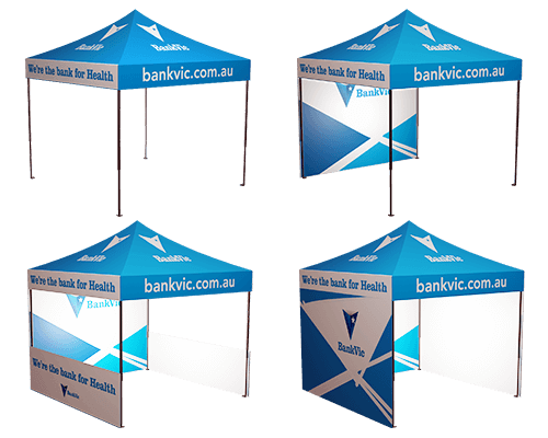 3x3 Printed Marquee Options