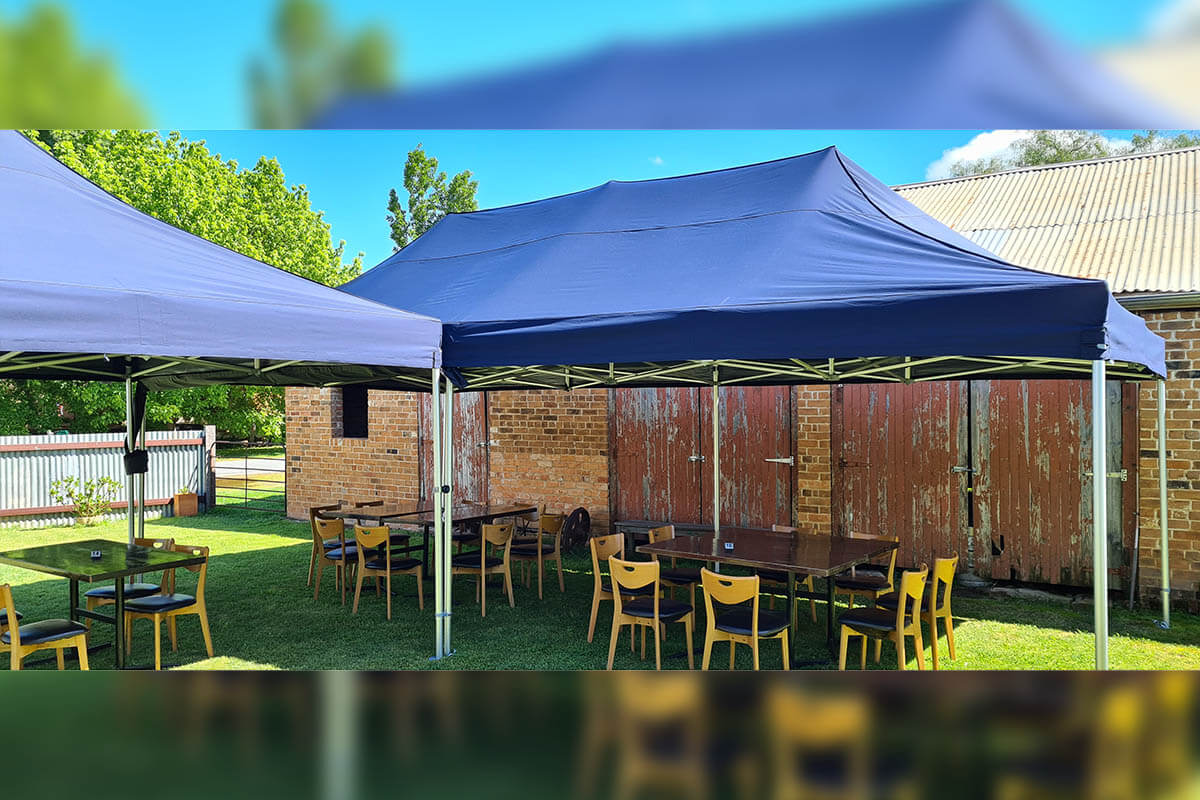 4x8m Outdoor Dining Marquees