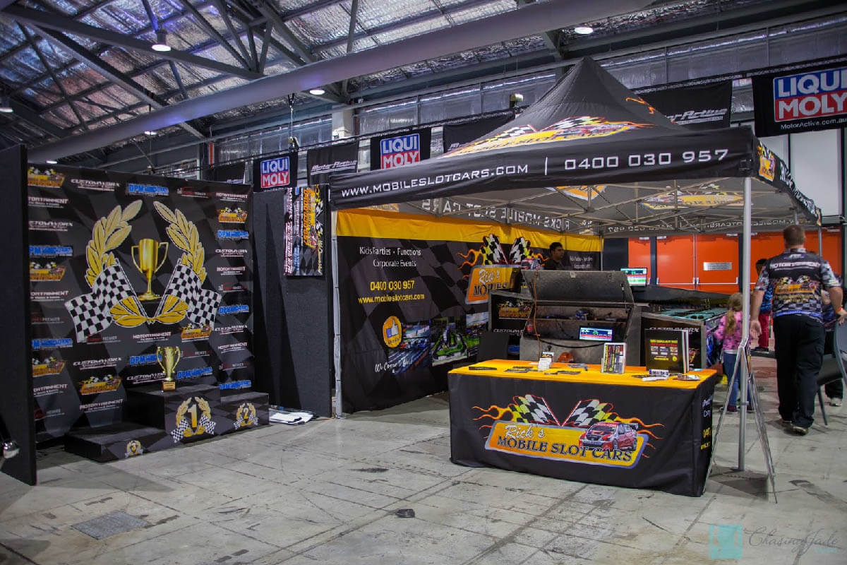 Mobile Slot Cars Printed Marquee