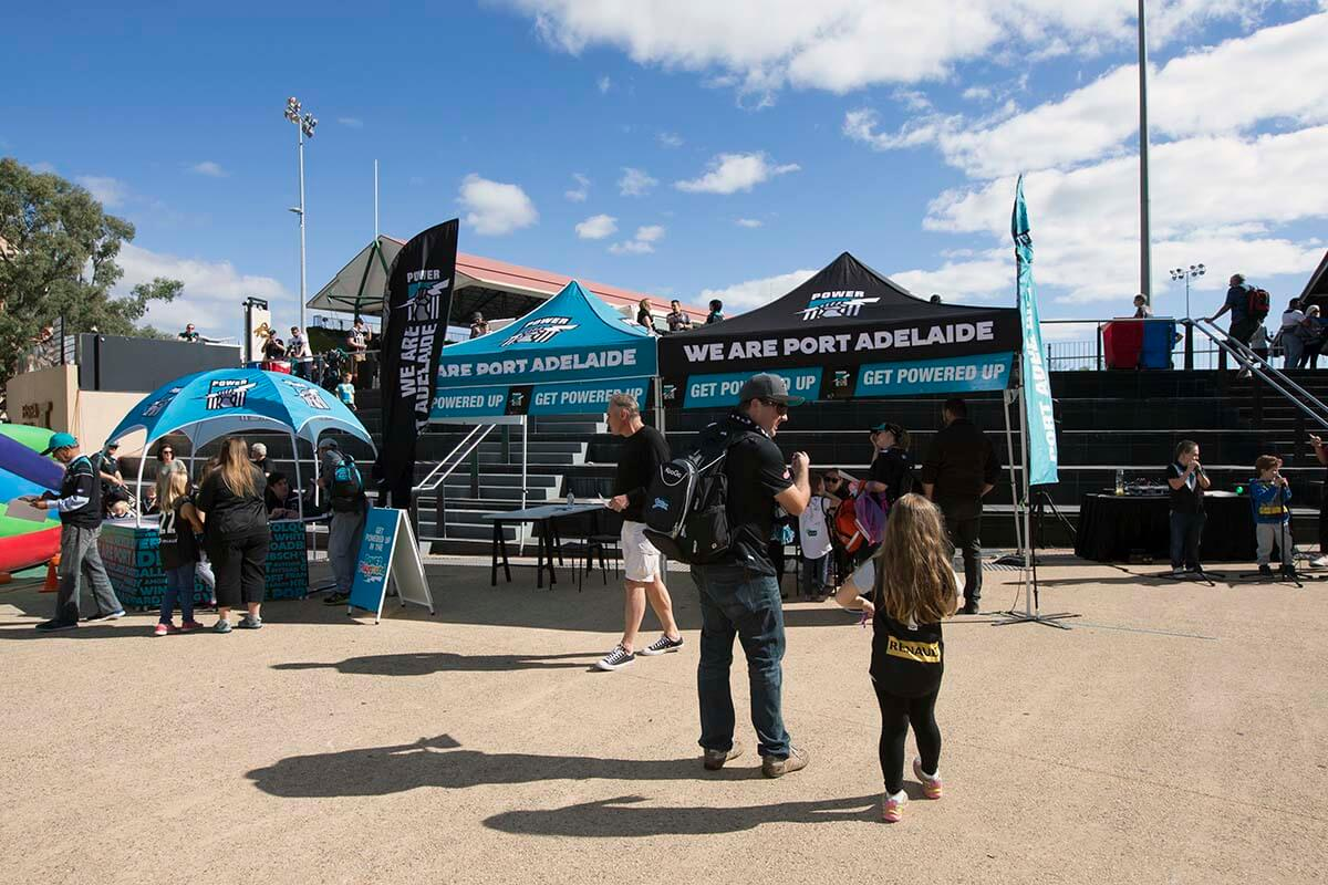 Port Adelaide Football Club Outdoor Printed Marquee