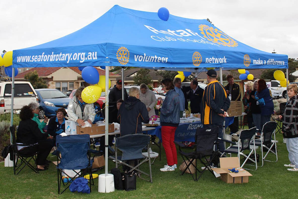 Rotary Club Marquee Shelter
