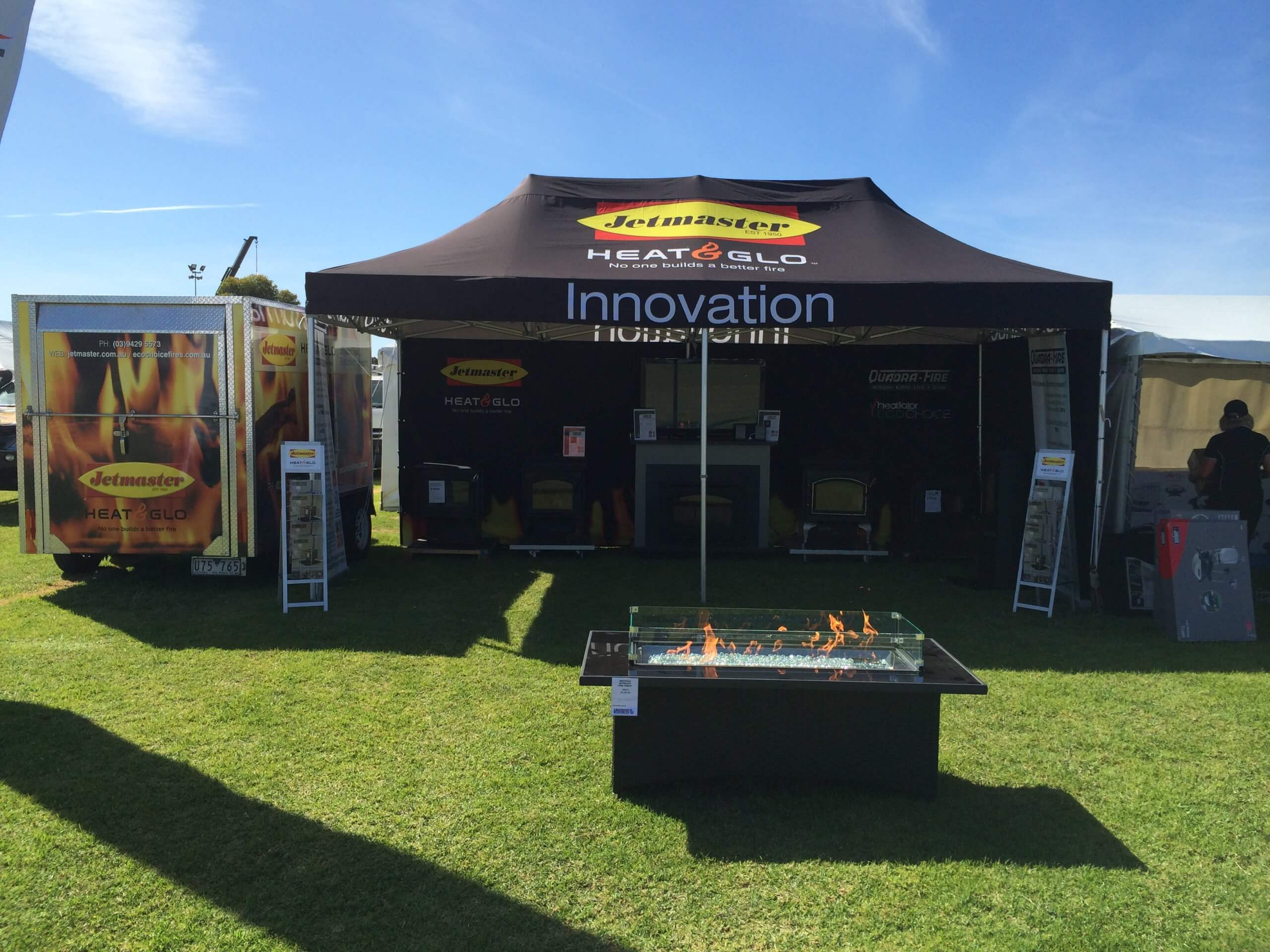 Jetmaster Marquee Being Used At A Field Day