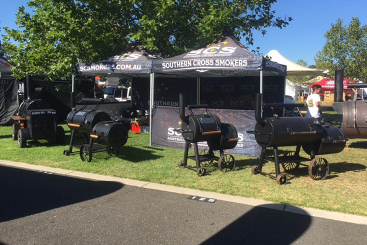 Smokers Outdoor Trade Show Marquee