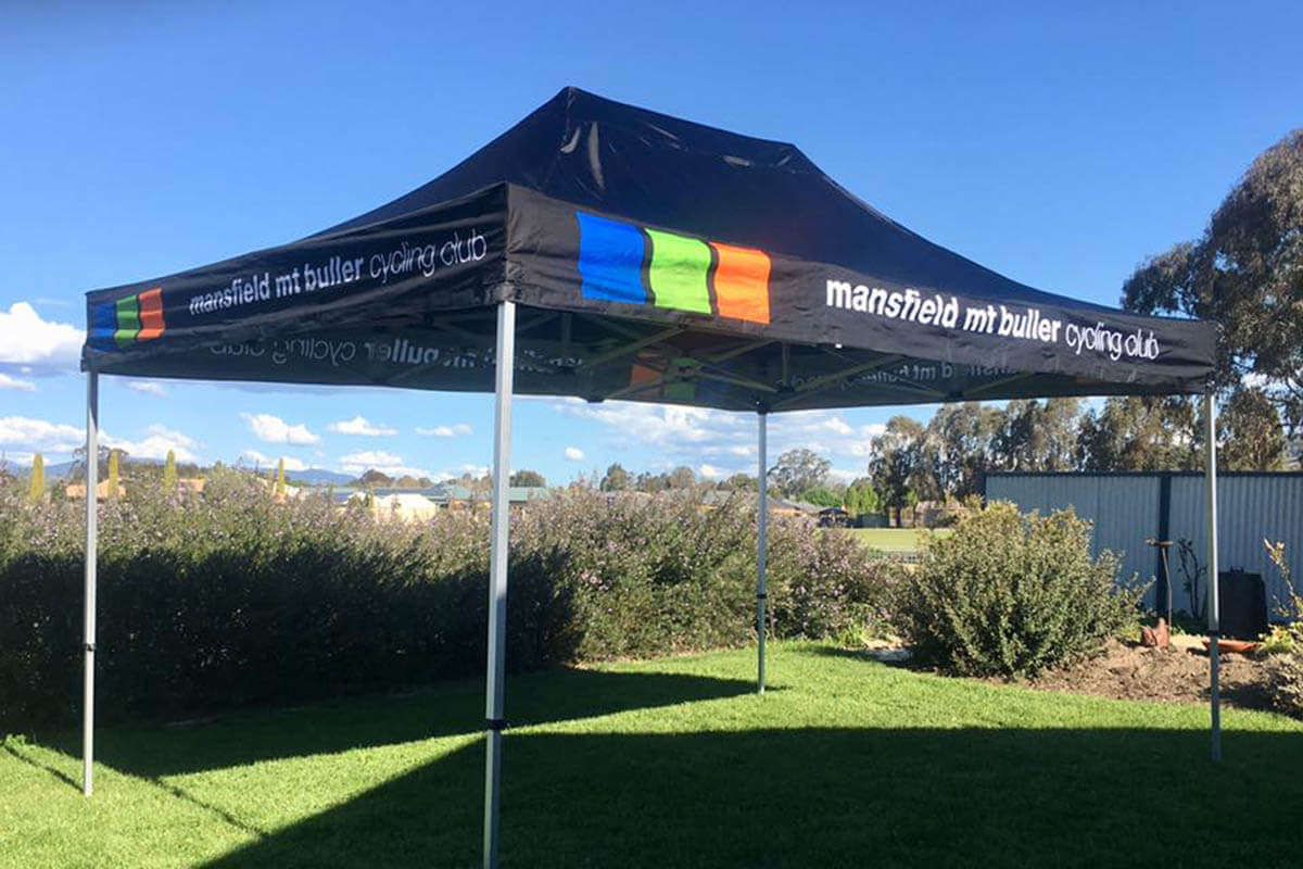 Reliable And Strong Cycling Club Marquee