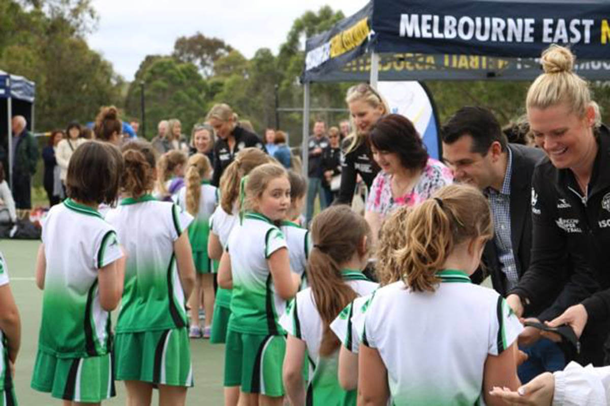 Strong Netball Club Marquee