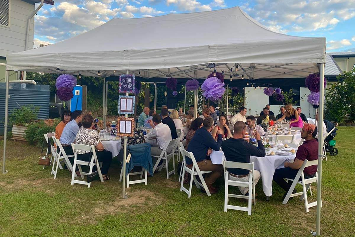 Plain Catering Marquee