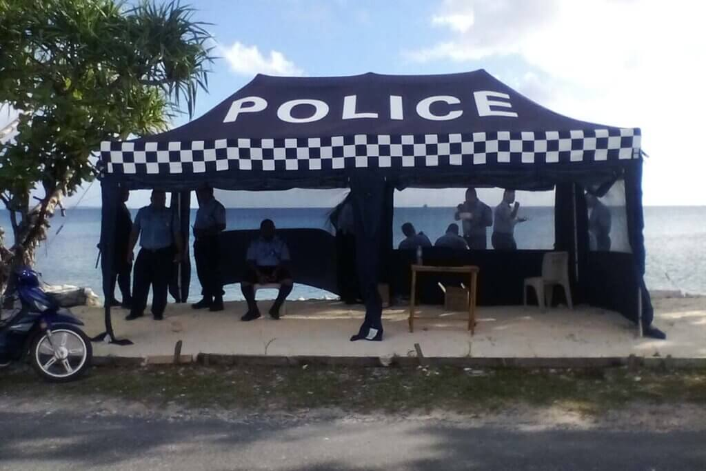 Gallery - Police Marquee